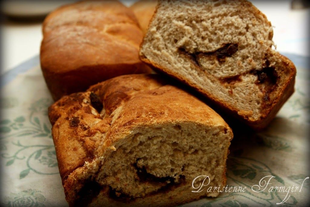 Today in the Kitchen – Cinnamon Swirl Bread