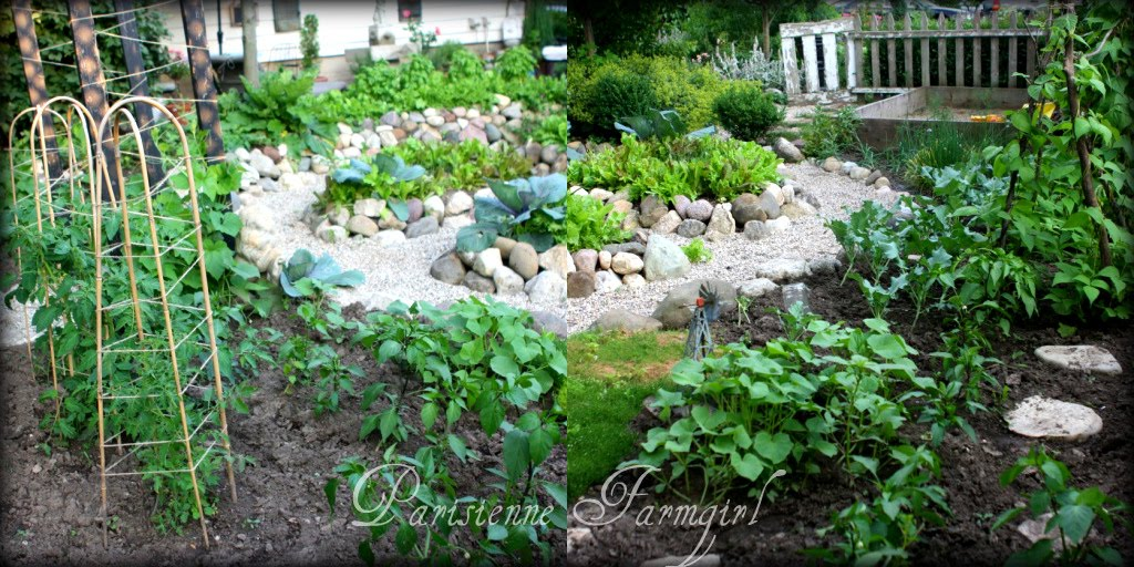 The Potager…