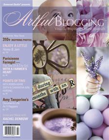 Artful Blogging magazine cover
