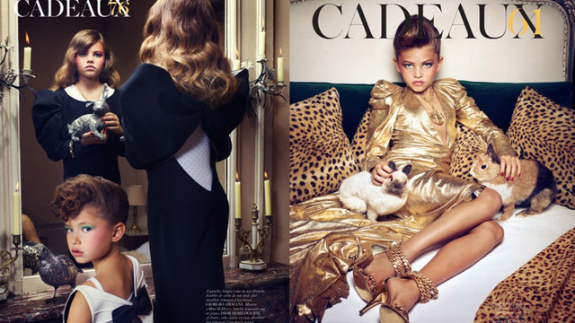 Cadeux double ad spread