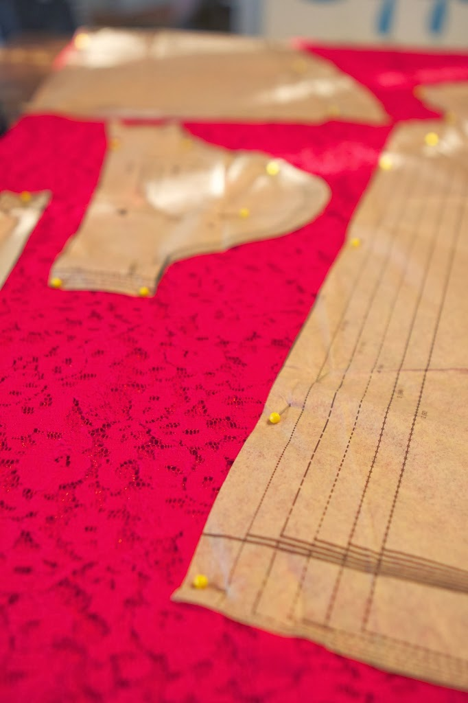 The Red Lace Dresses Part Two (sort of)