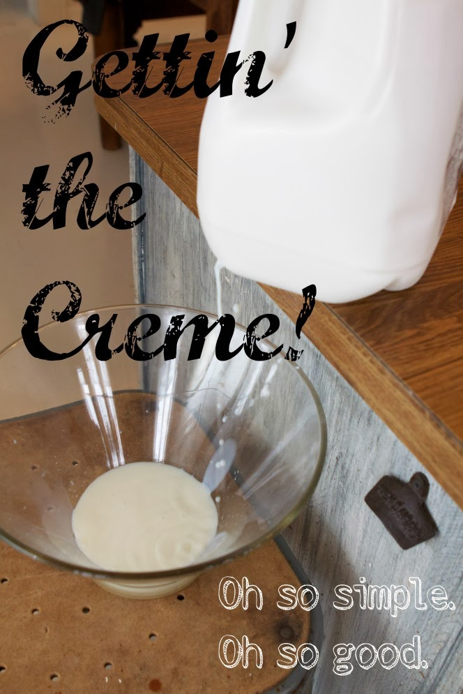 The Home Dairy – Gettin' the Creme!