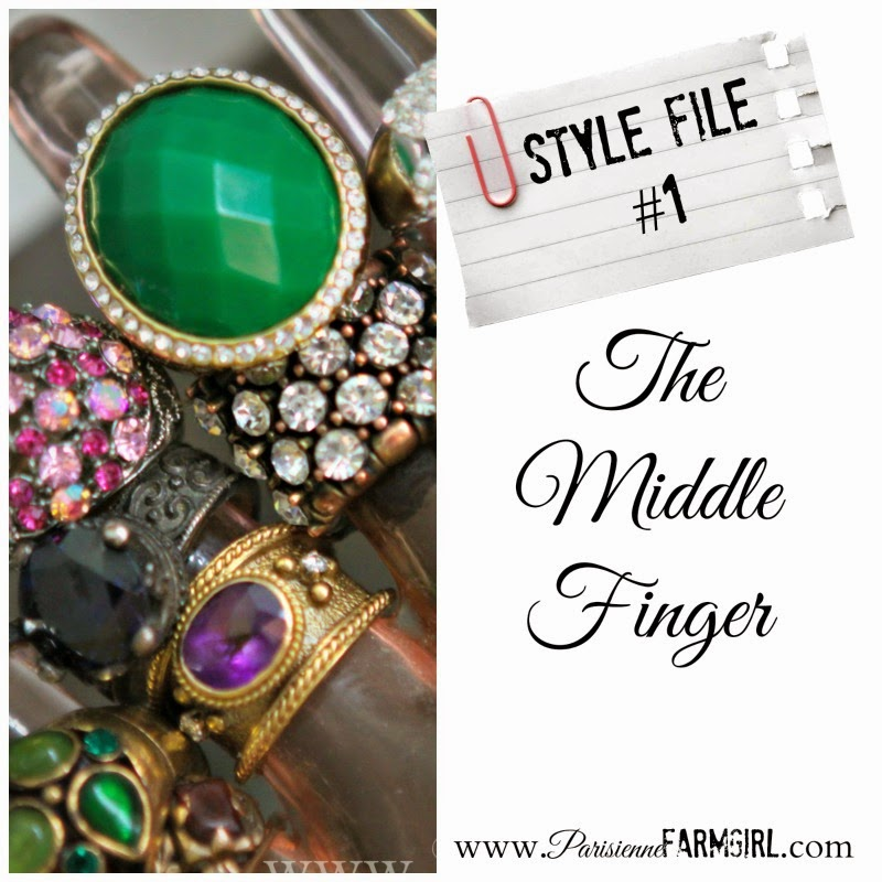 Style File #1 – Rockin' The Middle Finger.