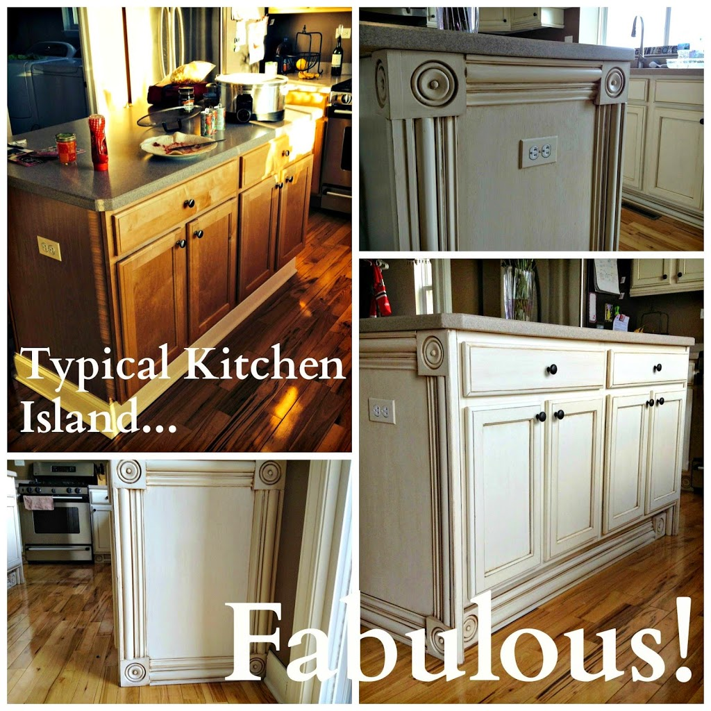 Basic Distressing Technique: Typical Kitchen Island... Fabulous