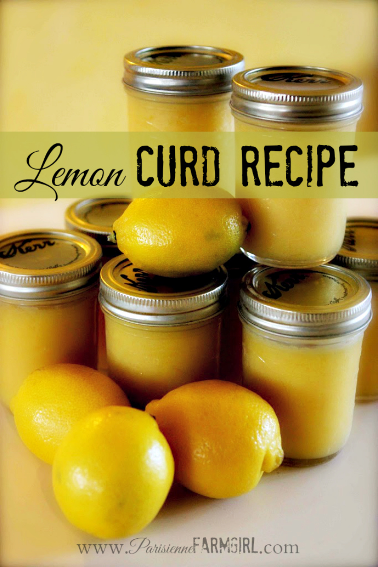 Lemon Curd Recipe - the BEST!