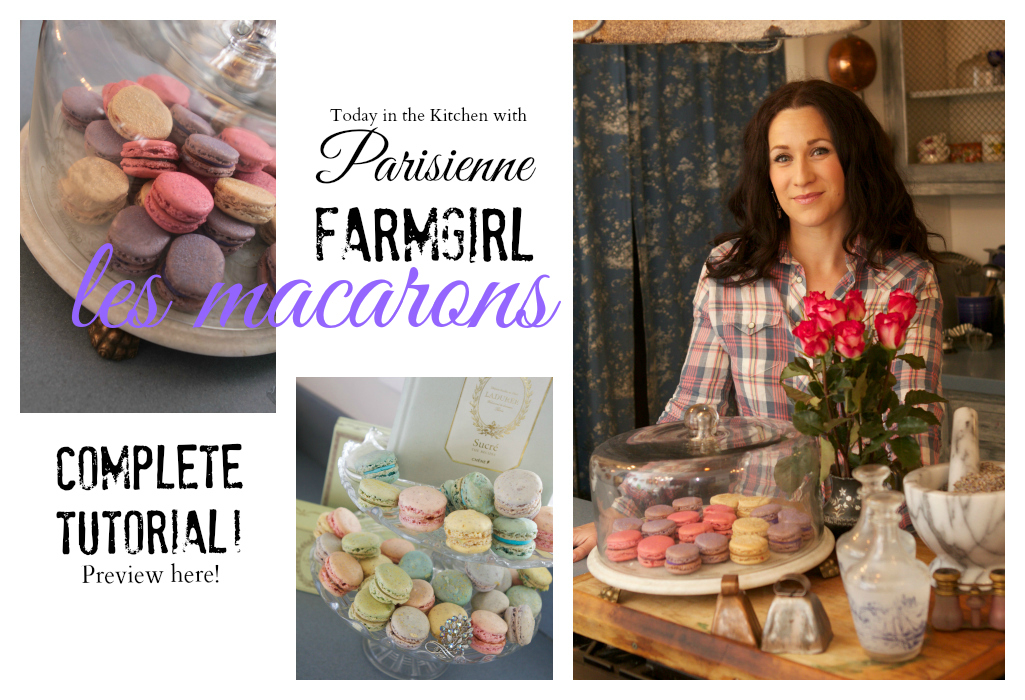 French Macaron Tutorial SNEAK PEEK~