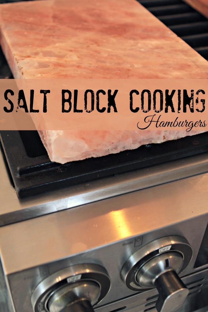 Himalayan Salt Block Cooking – Hamburgers