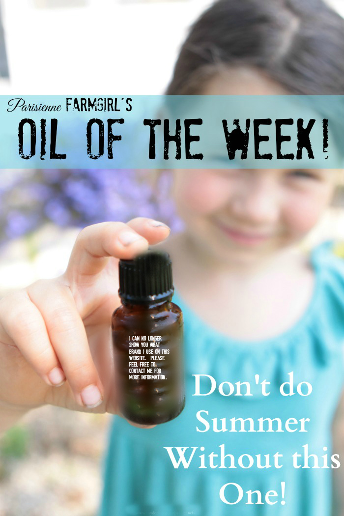 My Oil of the Week – Bug Repellent Blend