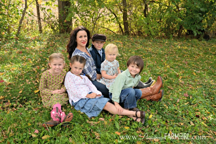 Our Debt Free Journey - Angela and her 5 kids