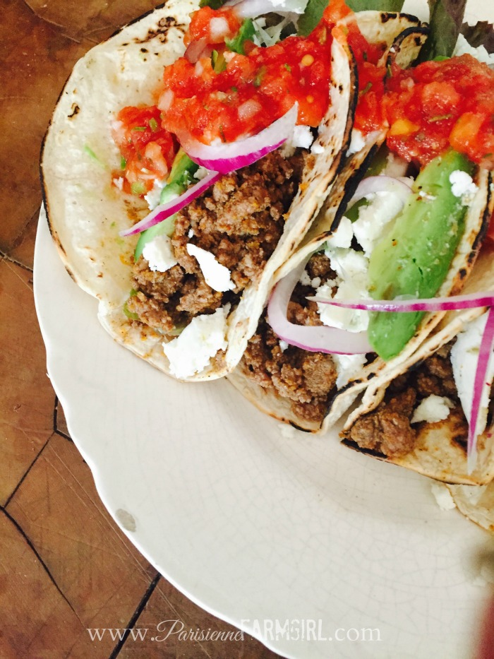 Garden Tacos From France to the Farm