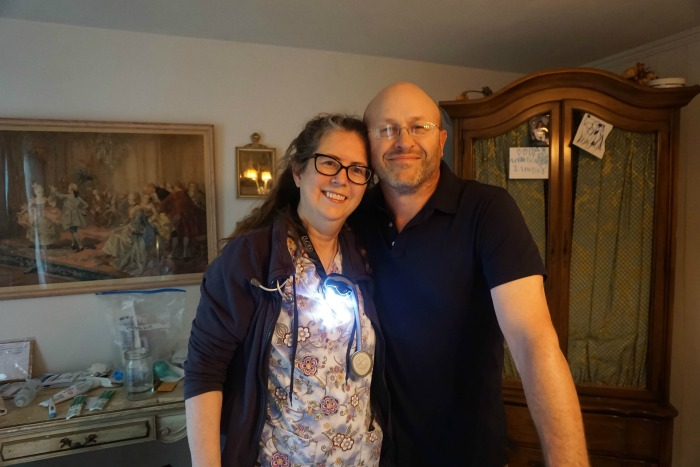 Funny, I don't know who loves Deb more. Joel or I. He has such a profound respect for her. Homebirth Midwive