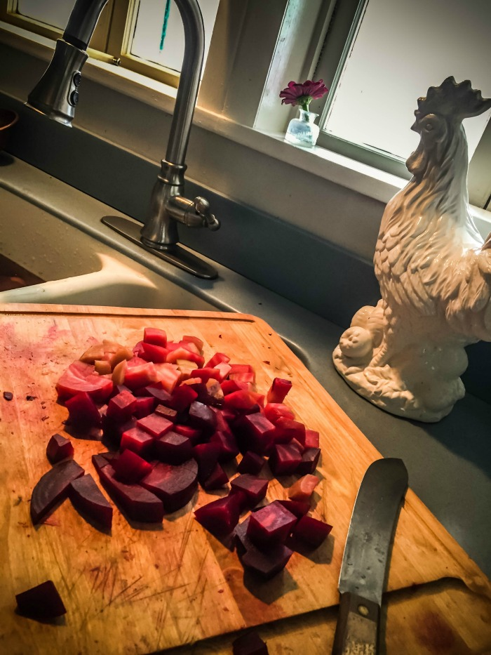 how to freeze beets