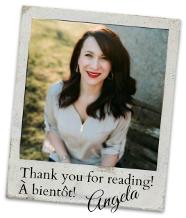 Angela Parisienne Farmgirl - Thank you for reading!