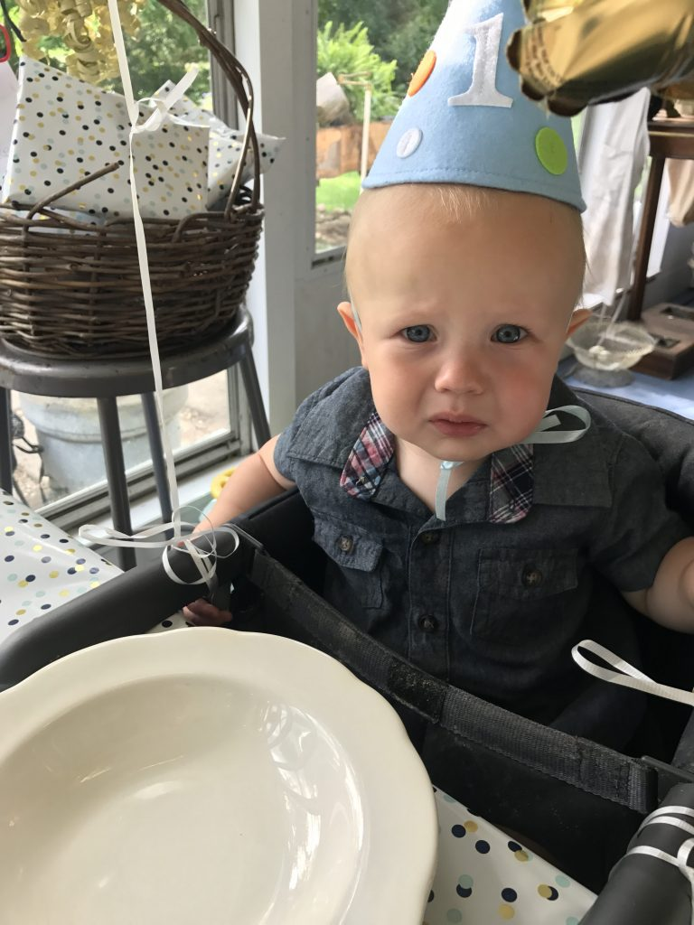First Birthday Boy Dinner