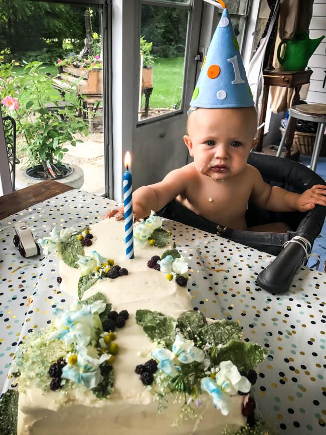 First Birthday Boy Dinner