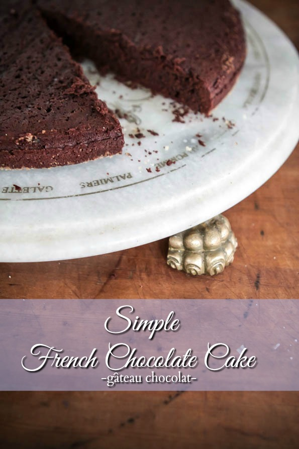 Bake it Off – A Simple French Chocolate Cake