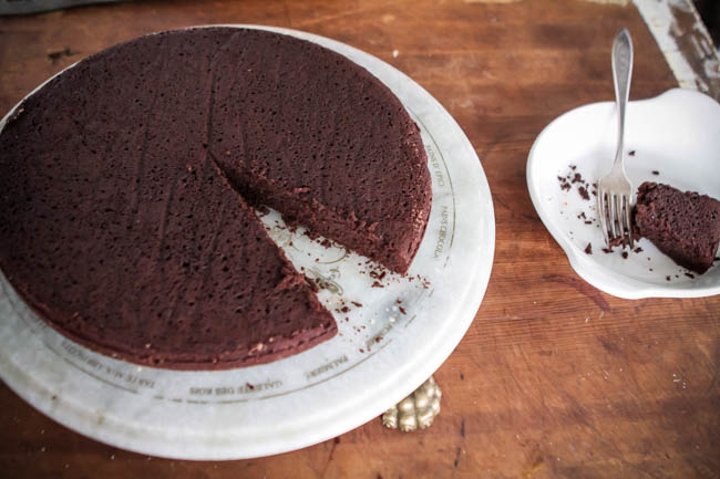 Simple French Chocolate Cake Recipe
