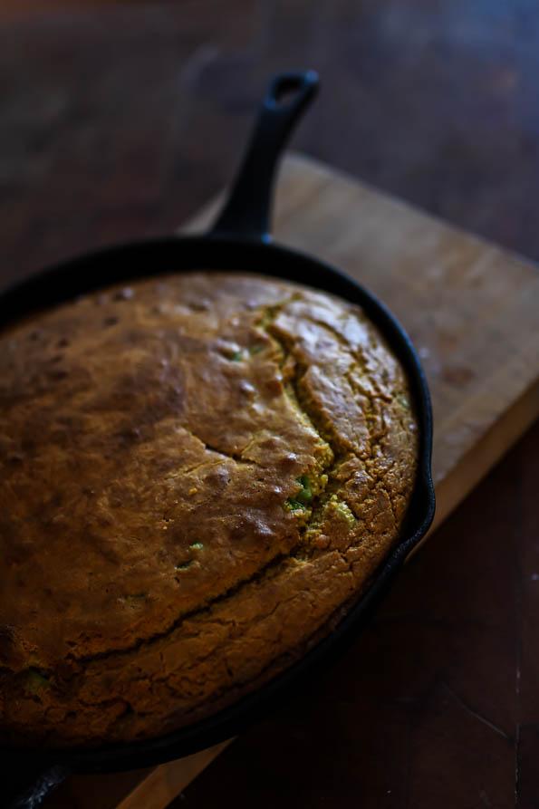 Einkorn Cornbread